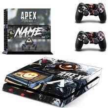 게임 에이펙스 전설 PS4 스킨 스티커 데칼 비닐 소니 플레이 스테이션 4 콘솔 및 컨트롤러 PS4 스킨 스티커