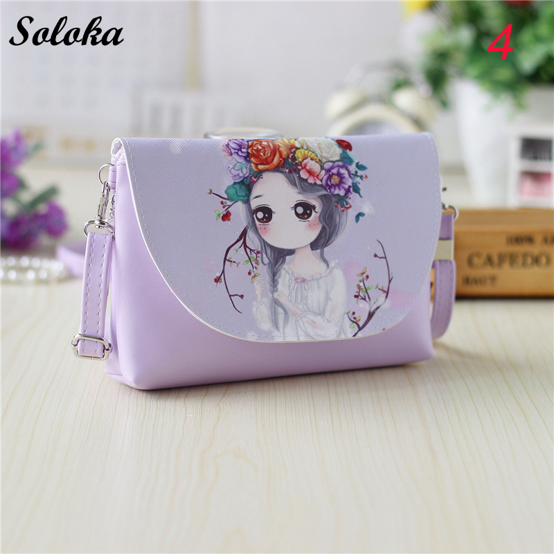 Hot Cartoon printing Shoulder bags Women bag 2018 New Children PU leather Mini Crossbody bag Girls Messenger bag yuanyu 2018 new hot free shipping real python leather women clutch women hand caught bag women bag long snake women day clutches