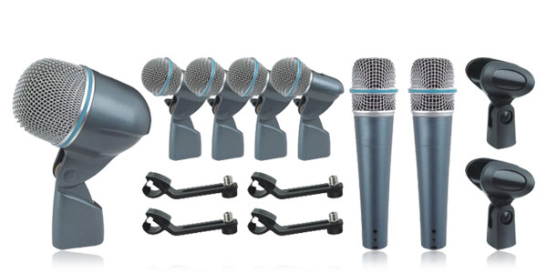 Microphone Wired Drum Kit Professional Drum Microphone Kit Instrument microphone Instrument microfone