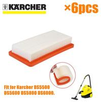 China Post 6 Pcs Lot Air HEPA Filters For Karcher 6 414 631 0 DS Series