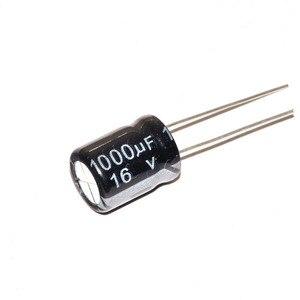 "Image 2 - 20 יחידות 1000 UF 16 V 16 V גודל 8*16 מ""מ אלומיניום אלקטרוליטי קבלים 1000 UF 16 V/1000 UF קבל אלקטרוליטי"