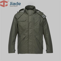 Jiade Men's Work Wear Jacket Autumn Workwear Jacket Outdoor Jacket Adult Work Jacket