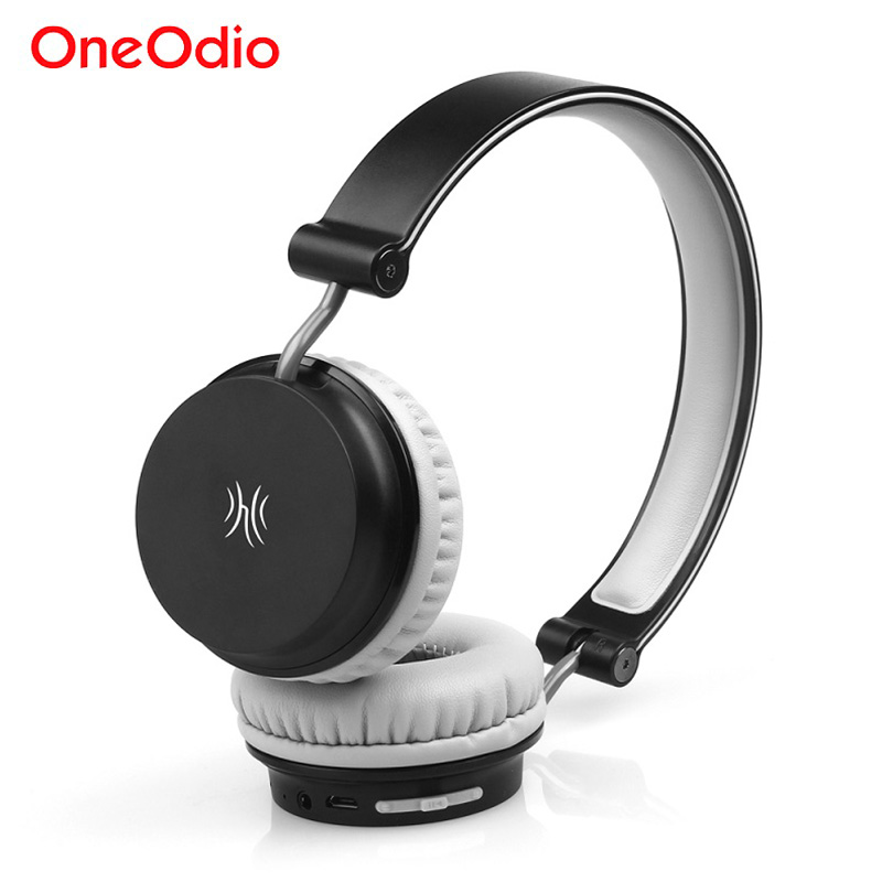Oneodio Lightweight Foldable Bluetooth Headphone Stereo Sport Earphone With Microphone NFC Wireless Headset For Phone Computer remax bluetooth v4 1 wireless stereo foldable handsfree music earphone for iphone 7 8 samsung galaxy rb 200hb