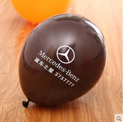 "1000 stücke 12 ""Starke Individuell bedruckte ballon personalisierte ballons Helium logo print werben balons globos feier luftballons-in Ballons & Zubehör aus Heim und Garten bei  Gruppe 1"