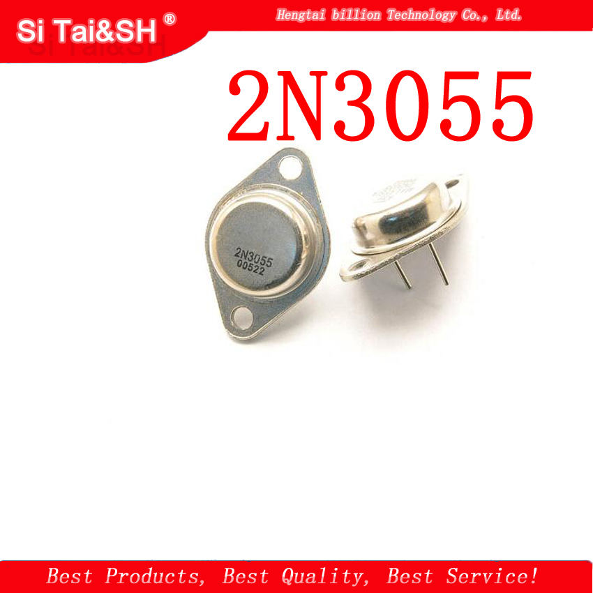 5PCS Transistor 2N3055 TO-3 15A 60V NPN AF Amp Audio Power New And Original IC