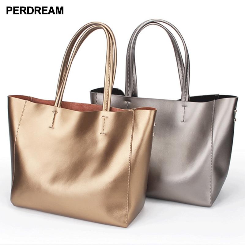 2018 new leather women s bag simple fashion large capacity mother bag portable shoulder bag cowhide