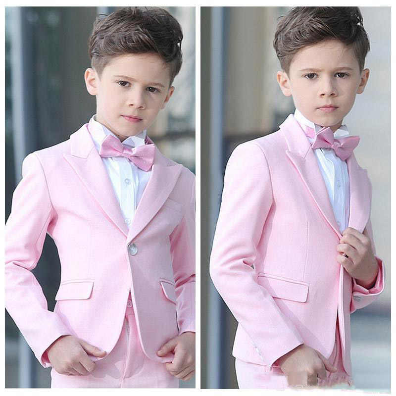 new wedding suits for Boys' Suit shawl lapel boys mens suits two piece Boy's Formal Wear slim fit two button jacket+pants+tie