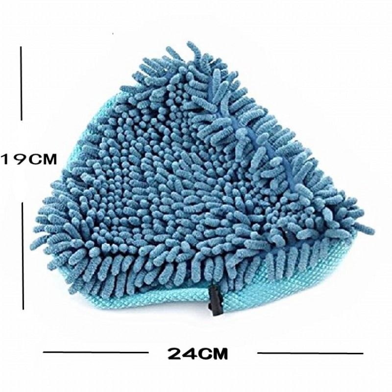 2Pcs / Lot kućno čišćenje tkanina parna h2o odjeća mikrofiber - Kućanski robe - Foto 4