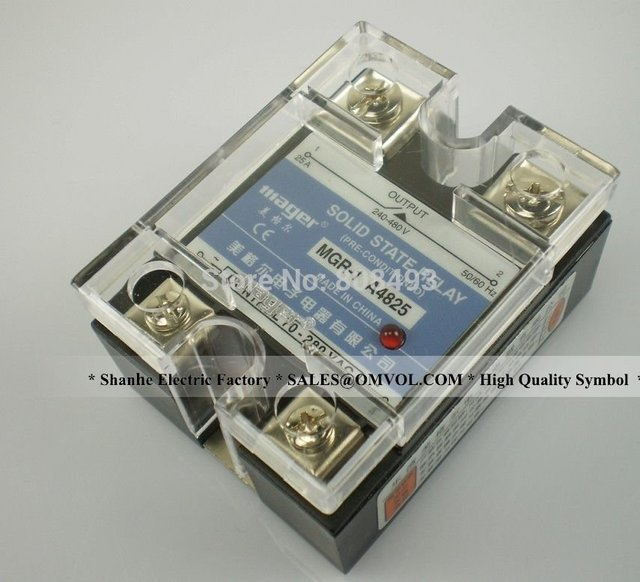 SSR 25A AC AC Solid state relay Quality Goods MGR 1 A4825 Mager