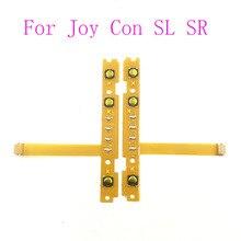 10 ADET SL SR Düğme Anahtarı Flex Kablo Eşleştirme Lamba Nintendo Anahtarı Joy Con Denetleyicisi Için