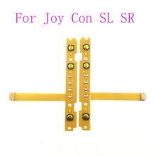 10 個 SL SR ボタンキーフレックスケーブルペアリングランプ任天堂スイッチ喜び Con コントローラ