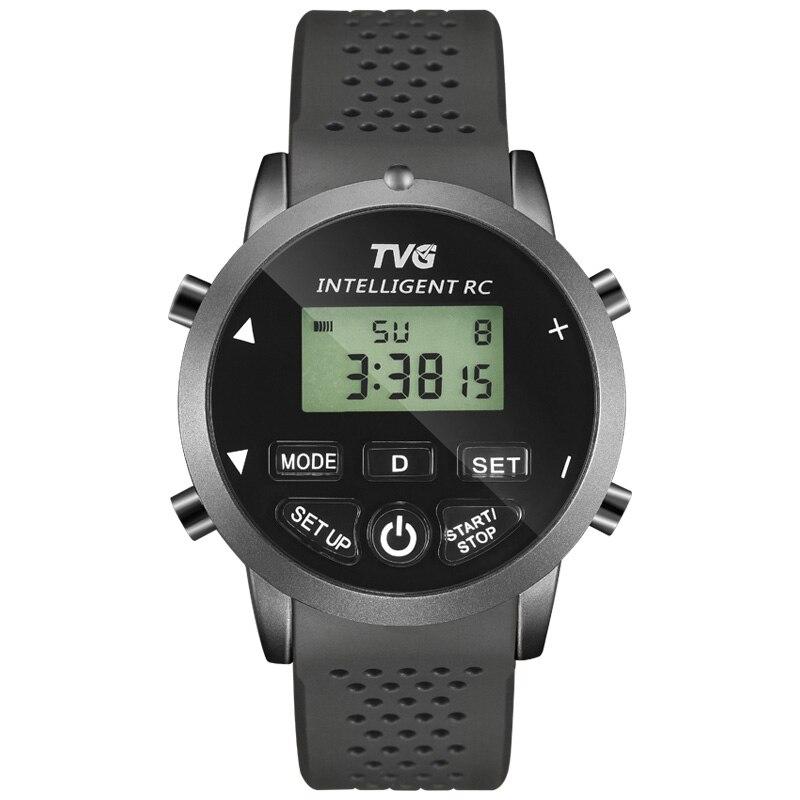 Часы наручные TVG Мужские кварцевые цифровые светодиодные, спортивные водонепроницаемые с силиконовым ремешком, с дистанционным управлением, с копированием, 2018|masculino|masculinos relogiosmasculino watch | АлиЭкспресс