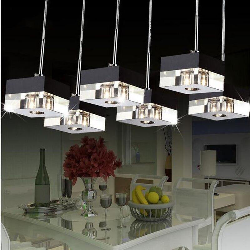 Простой художественный модный подвесной светильник для гостиной, дома, внутреннего освещения, Современный Креативный светодиодный чип, ла