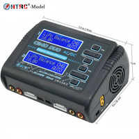 HTRC AC 150W DC 240W Dual Channel RC Balance Lipo battery Charger LiHV LiFe Lilon NiCd NiMH PB Battery charger RC Discharger