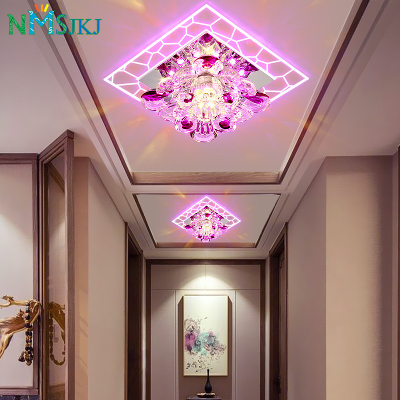 Modern LED Crystal Ceiling Lights Individual Design for Bar Cafe ...