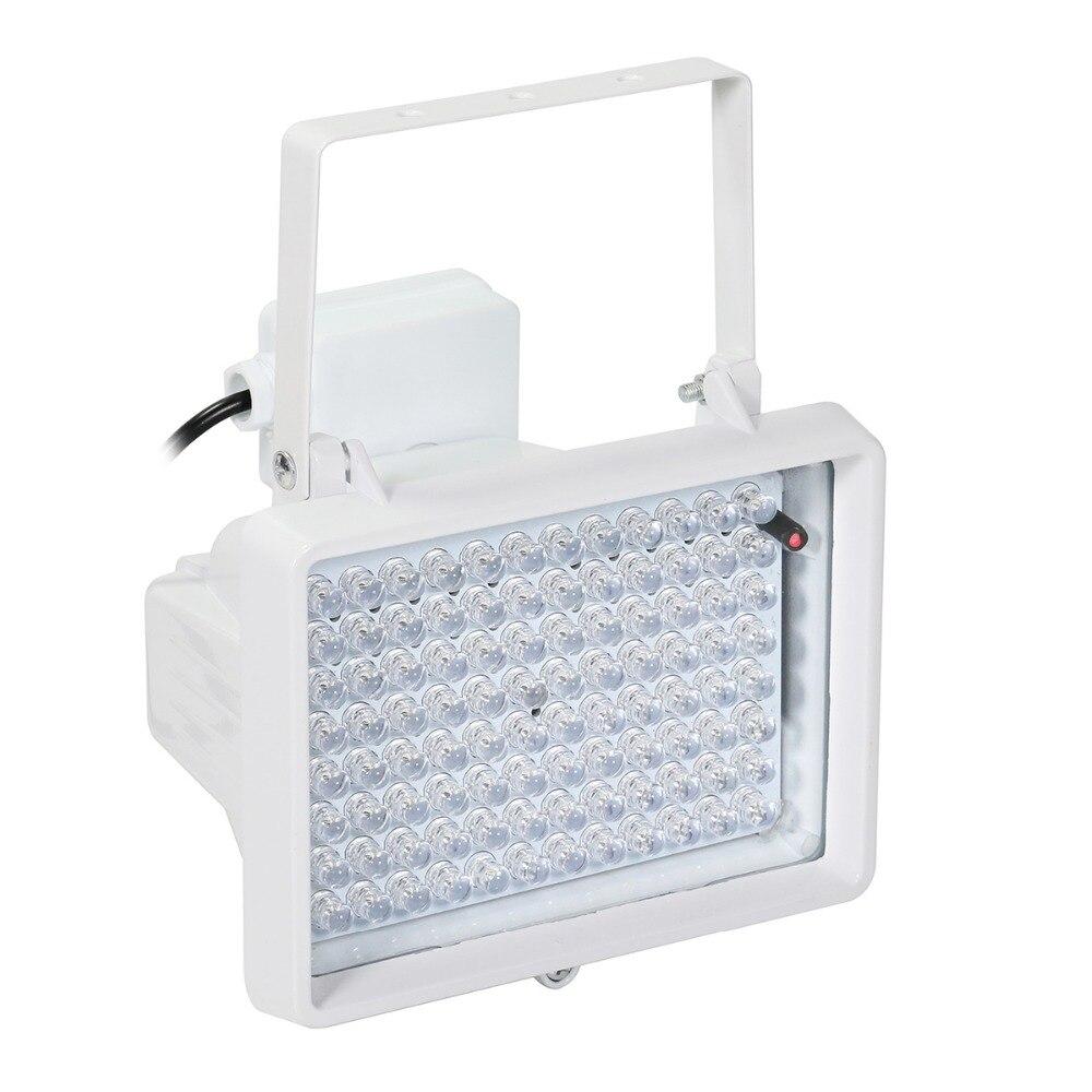 AZISHN CCTV LED CCTV 96 pièces LED IR CCTV Remplir Lumière lampe infrarouge d'illuminateur IP66 850nm Vision Nocturne Étanche pour caméra DE VIDÉOSURVEILLANCE - 3