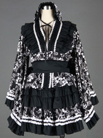 Cosplay animation clothing wholesale LOLITA culture Lolita Dress loaded 7 generation Black H50