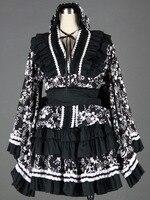 Cosplay animation vêtements en gros lolita culture-lolita dress chargé 7 generation-black-h50