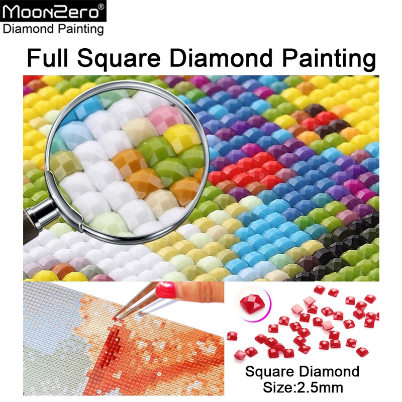 Hot Sell Diamond Painting Cross Stitch Photo Custom Picture Full Square Rhinestone 5D DIY Diamond Embroidery Mosaic Home Decor in Diamond Painting Cross Stitch from Home Garden