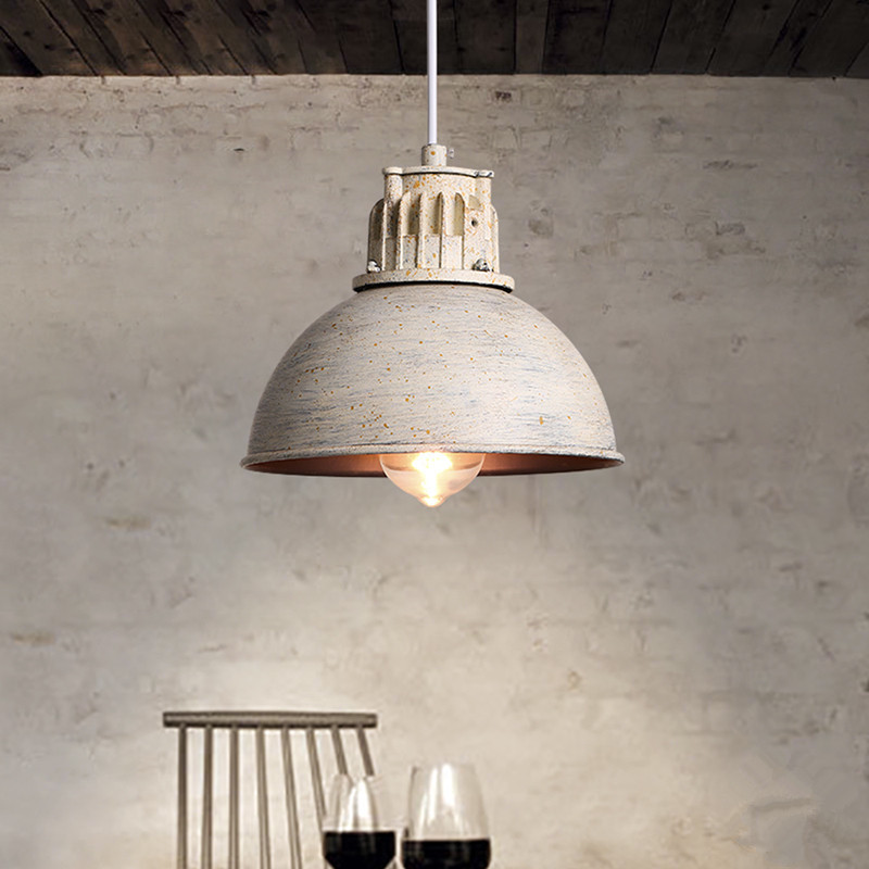 Industrial retro Loft LED pendant lamp kitchen Hanging Minimalist Light dining room/Restaurant/foyer/bath room/ bedroom headlamp