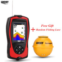 Deeper Wireless Sonar Fish Finder FF1108 1CWLA Fish Finder With Color Display Pesca Bite Alarms For Sea Shore Waterproof Fishing