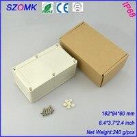 4 개 많은 고품질 ABS 플라스틱 접합 상자 IP68 방수 수준의 회로 하우징 161.5*94*60 미리메터 6.4*3.7*2.4 인치