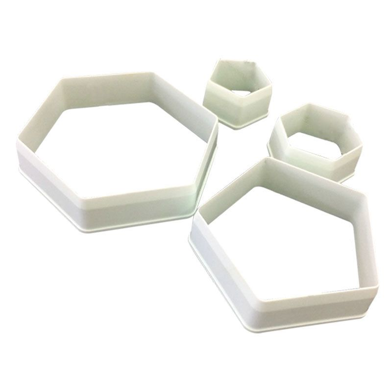 HOT-The Easiest Football Cookie Ever Cutter Set - 4 Size - Stadium player, world cup master chart, cake decoration fondant mol image