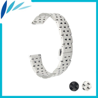 Stainless Steel Watch Band 20mm 22mm For Rolex Butterfly Buckle Strap Wrist Quick Release Loop Belt