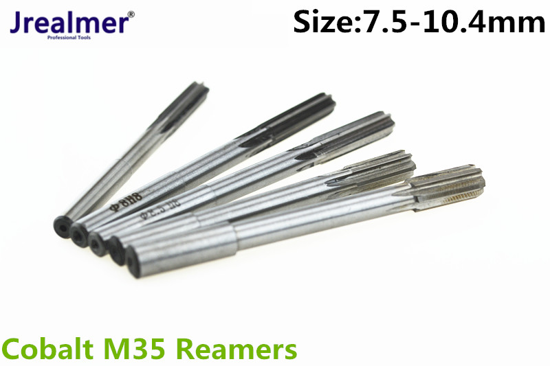 Jrealmer 7.5-10.4mm H8 Chucking Cobalt M35 Reamers You Can Chose Size You Want
