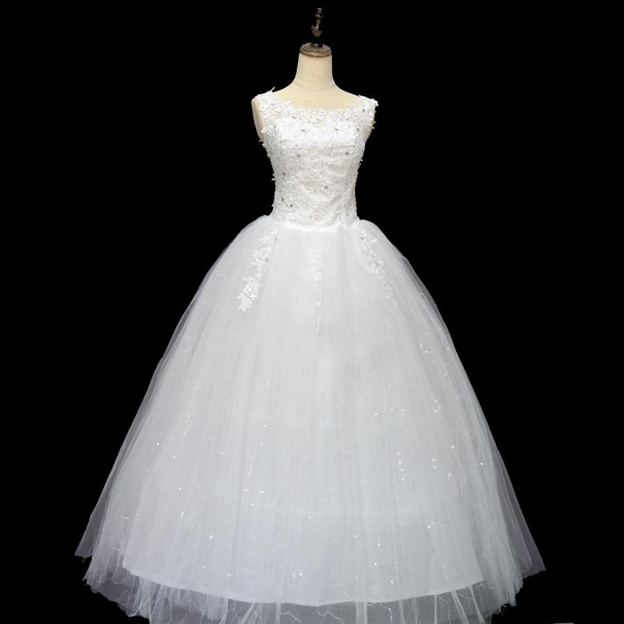 Koreanska Snörningsklänning Kvalitets Bröllopsklänningar 2018 - Bröllopsklänningar - Foto 1