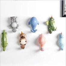 New Arrivals Fresh Creative Cute Cartoon Animals Children Household Adornment Resin Wall Hook Coat Hooks A159