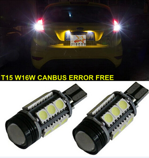 For   Ford Escape KUGAr  2012-2013 Canbus   Error Free  T15  W16W 921 912 Car LED Lights Backup Reverse Tail Bulb