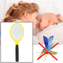 Electric Mosquito Killers Swatter LED Anti Fly Zapper Tool Racket Home Decor Practical Insects Bug