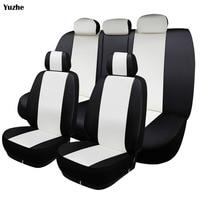 Yuzhe Universal Auto Leather Car Seat Cover For Mazda 2 3 5 6 CX 5 CX