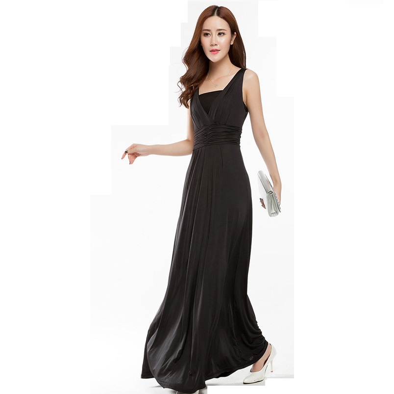 New Summer Plus Size Womens Long Dresses Maternity Dresses