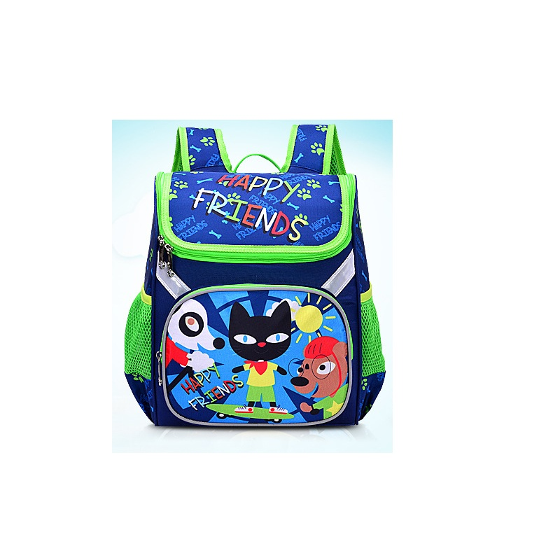 5D 3D Cartoon Luminous Backpack Kids Cartoon School Bags Hot  Travel Backpack School Bags Boys And Girls Mochila Sonic Vampirin