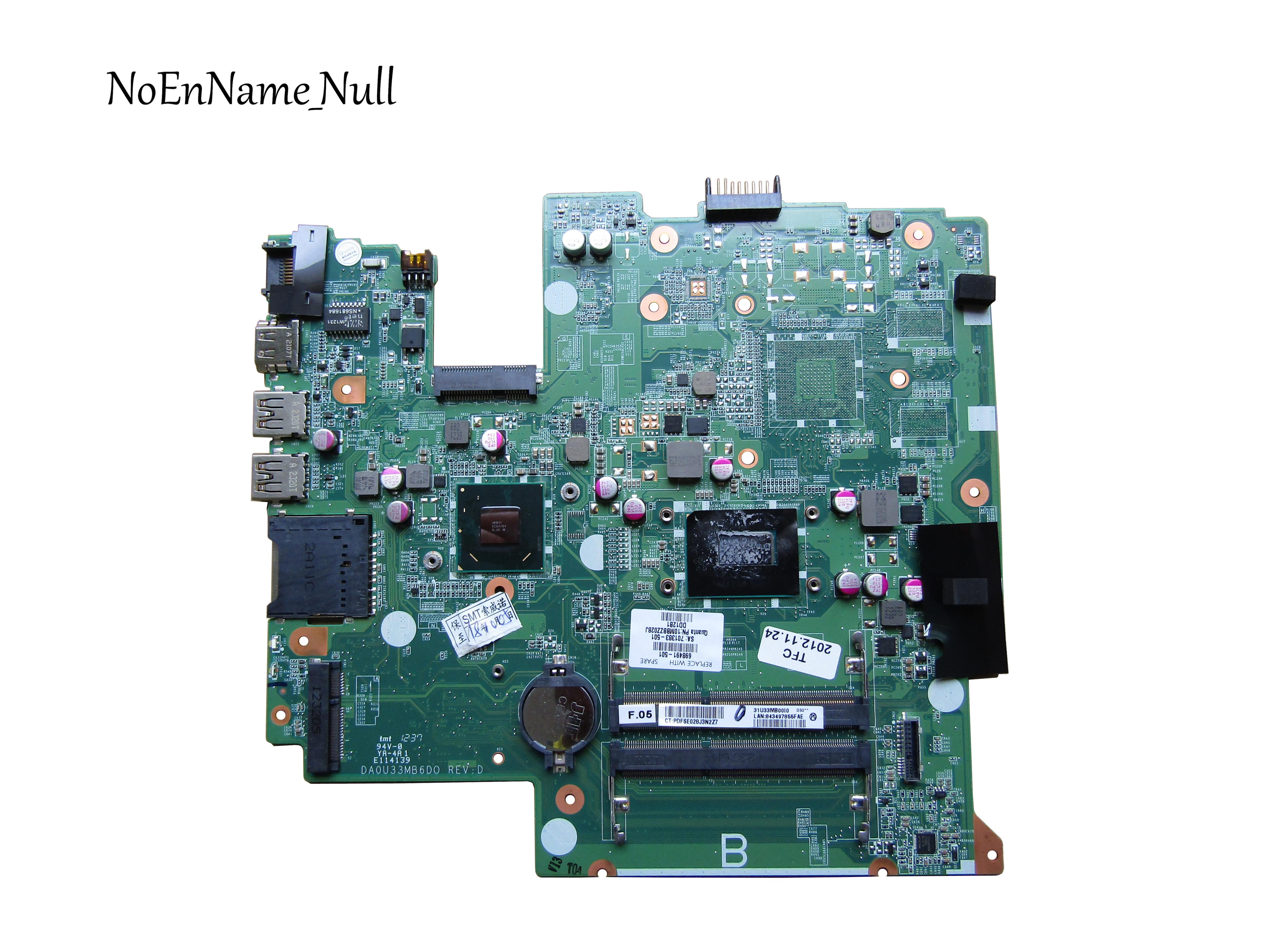698491-001 Free Shipping 698491-501 For HP Pavilion Sleekbook 14-B 14-b030TU 14-b016TU Laptop Motherboard 100%tested Fully Work