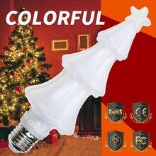 E27 Flame LED Bulb E26 Fire Lamp 220V Holiday Decoration Light 110V Effect Christmas Tree Dynamic Flickering