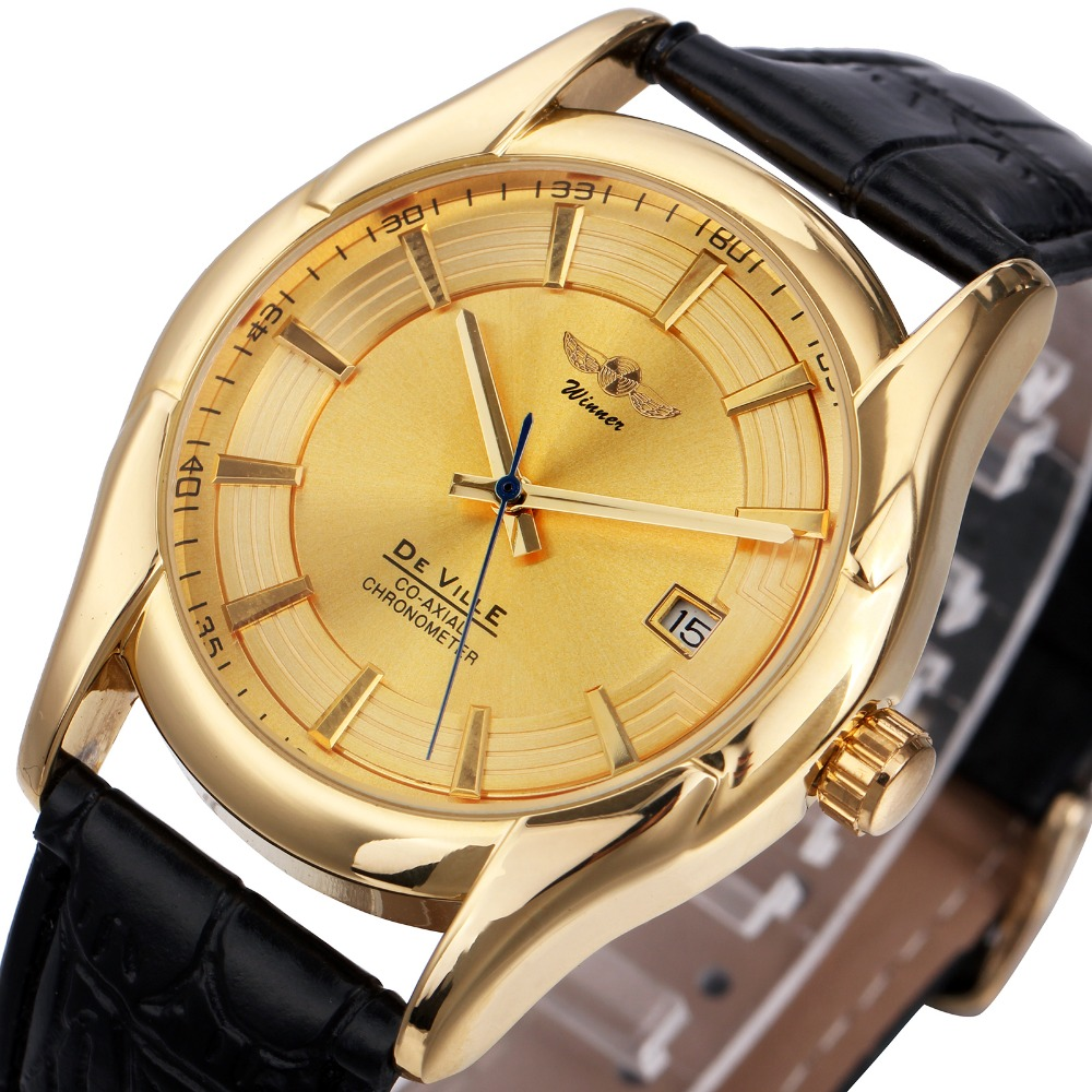 2018 Elegant Women Automatic Mechanical Wristwatches with Calendar Date Dial Ladies Golden Watches Top Brand Luxury Design2018 Elegant Women Automatic Mechanical Wristwatches with Calendar Date Dial Ladies Golden Watches Top Brand Luxury Design