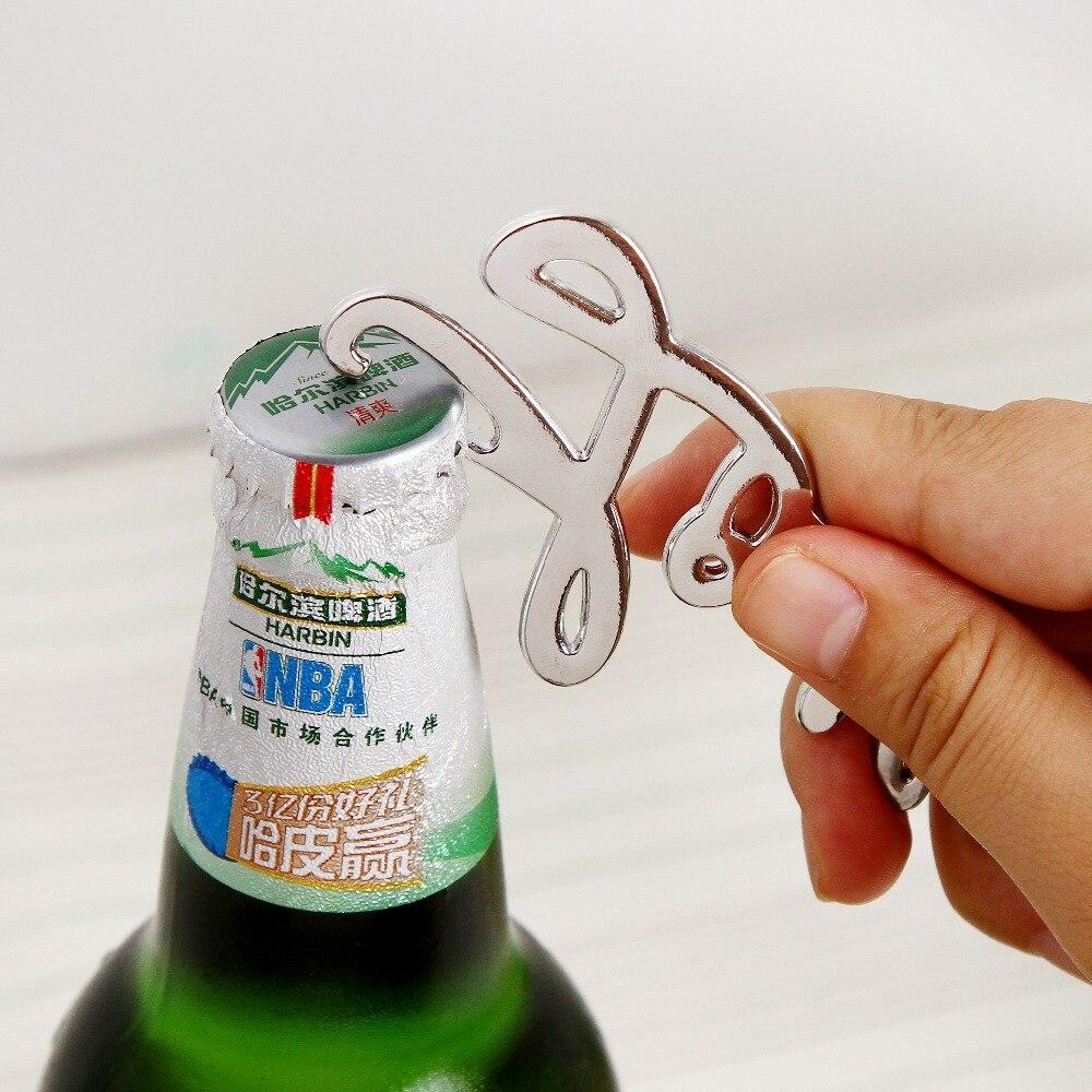 LOVE Letter Bottle Opener Wedding Favors Gift Metal Opener Open ...