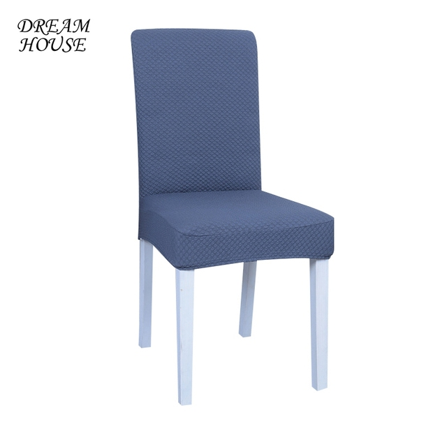 Dining Chair Covers Stretch Computer Office Universal Party Long Back Chair  Seat Cover For Weddings Slipcovers