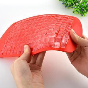 Image 4 - 160 Grids Food Grade Silicone Ice Tray Fruit Ice Cube Maker Diy Kleine Vierkante Vorm Keuken Drankjes Accessoires Ice Cube mold