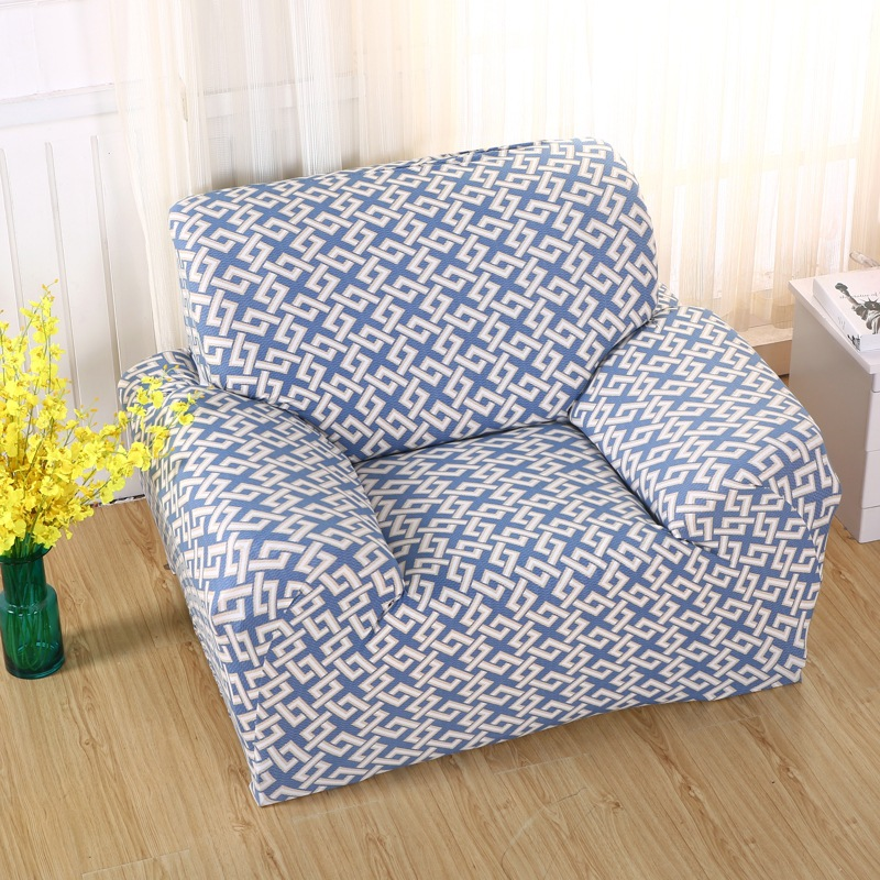 Modern Simple Sofa Cover Big Elasticity Flexible Couch Cover Loveseat  Machine Slip Resistant Drawing Room
