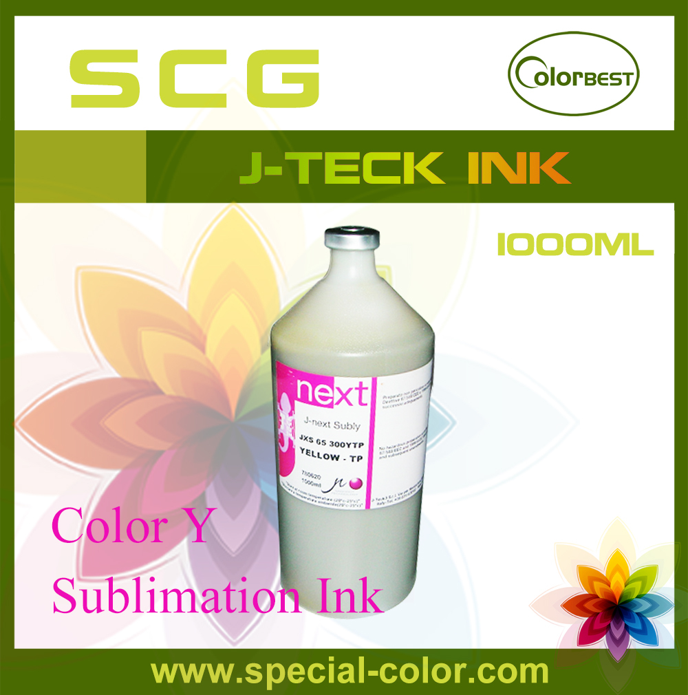 Waterbased Transfer Ink 1000ml Sublimation Ink in Bottle J-next Ink for Epson DX4/DX5