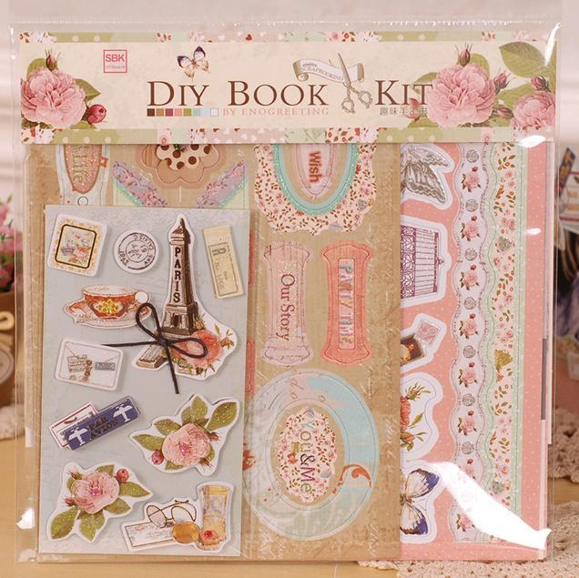 New Scrapbooking Set Diy Photo Album Scrapbook Paper Crafts Inner