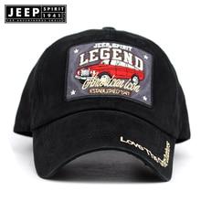 Jeep spirit esporte homens boné de beisebol pai casquette mulheres moda  snapback hip hop cap lavado gorras de algodão chapéu par. f6d35f0be12