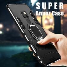 Ốp Lưng Armour Case Dành Cho Huawei Mate 20 Cứng Lai PC TPU Silicone Chống Sốc Bảo Vệ Dành Cho Huawei Mate 20x 20 Lite 20pro 30 10 9 Ốp Lưng