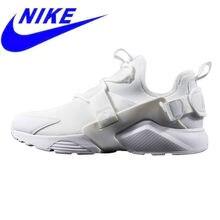 sports shoes 83cf3 cf781 Résistant À L'usure Nike air huarache City Faible Hommes et Femmes  chaussures de course, Blanc, absorption Des chocs Respirant N..