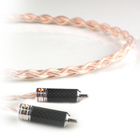 Xiao Fan C018 RCA Audio Cable Amplifier Connection Line 3.5mm to 2RCA For The An on board/speakers/ Home Theater /DVD / PC