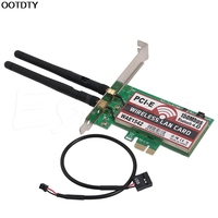 Bluetooth 4,0 Беспроводная 50 M PCI-E карта с разъемом PCI Express wifi сетевая LAN Ethernet NIC